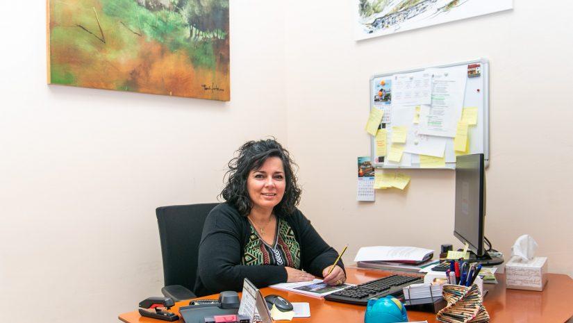 La concejal de Medio Ambiente de Polanco, Isabel Herrera Landeras