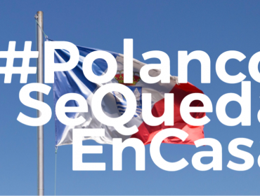 #PolancoSeQuedaEnCasa