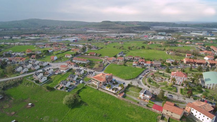 Panorámica del municipio de Polanco
