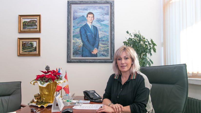 Rosa Diaz, alcaldesa de Polanco