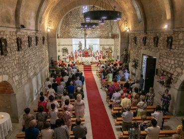 Misa en honor de San Pedro Advíncula en las fiestas del pasado año