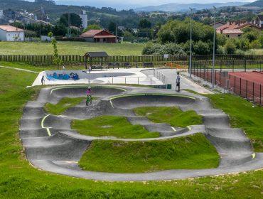 Pump track y la pista de skate de Requejada