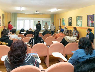 La alcaldesa y el concejal de Empleo en la recepción a los nuevos trabajadores de Corporaciones Locales