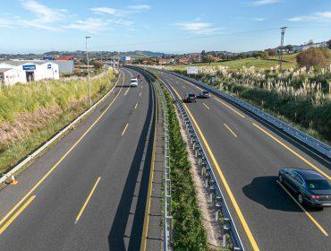Autovía A67 a su paso por Polanco