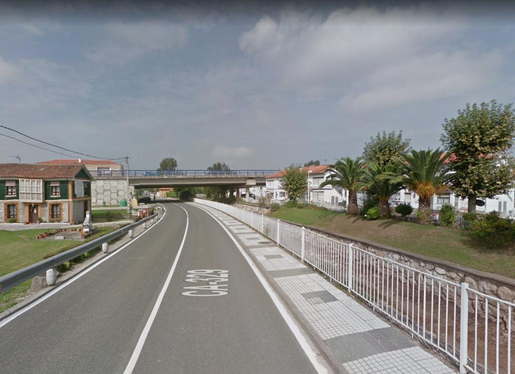 Zona donde tendrá lugar el corte trafico en Rinconeda