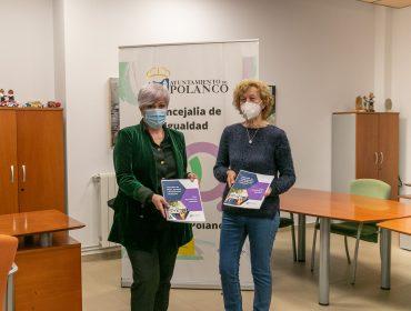 La alcaldesa de Polanco entrega el borrador del Plan de Igualdad a la asociación de mujeres Jolanta