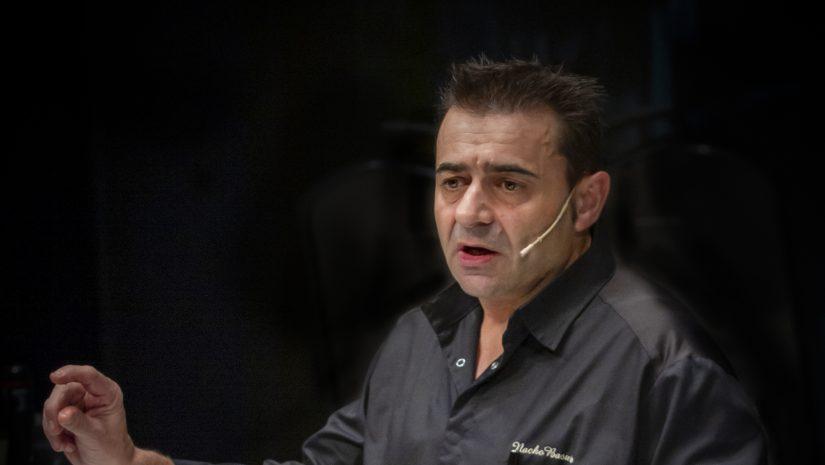 Retrato del chef Nacho Basurto (Autor: Enrique Gutiérrez Aragón)