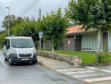 Parada de taxi situada junto al centro de salud de Rinconeda